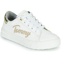 Sapatos Rapariga Sapatilhas Tommy Hilfiger SOFI Branco