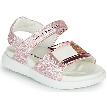 Sapatos Rapariga Sandálias Tommy Hilfiger EMIA Rosa