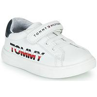 Sapatos Criança Sapatilhas Tommy Hilfiger MARILO Branco