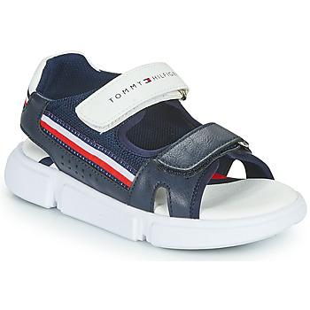 Sapatos Criança Sandálias Tommy Hilfiger TIFFOU Azul