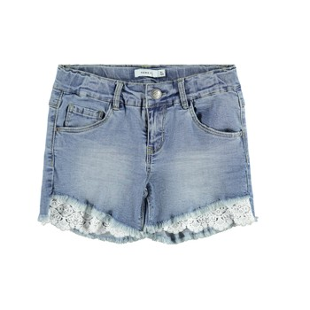 Textil Rapariga Shorts / Bermudas Name it NKFSALLI Azul