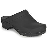 Sapatos Mulher Tamancos Sanita CHRISSY Preto