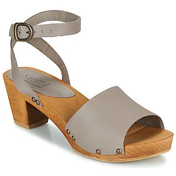 Sapatos Mulher Sandálias Sanita YARA Cinza