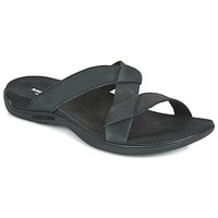 Sapatos Mulher Chinelos Merrell DISTRICT KANOYA SLIDE Preto