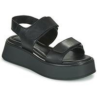 Sapatos Mulher Sandálias Vagabond Shoemakers COURTNEY Preto