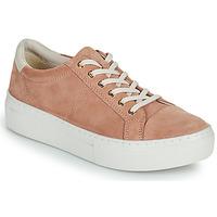 Sapatos Mulher Sapatilhas Vagabond Shoemakers ZOE PLATFORM Rosa