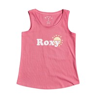 Textil Rapariga Tops sem mangas Roxy THERE IS LIFE FOIL Rosa