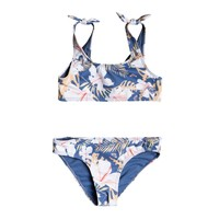Textil Rapariga Biquíni Roxy SWIM LOVERS BRALETTE SET Multicolor