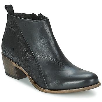 Sapatos Mulher Botas baixas Betty London INTRO Preto