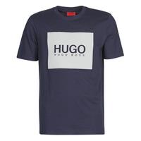 Textil Homem T-Shirt mangas curtas HUGO DOLIVE Marinho