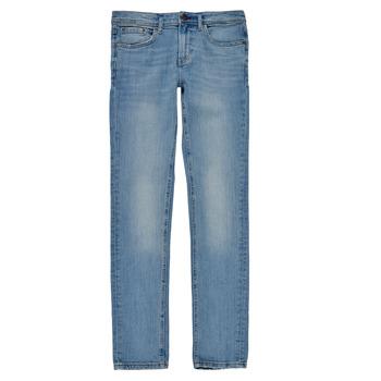 Textil Rapaz Gangas Skinny Teddy Smith FLASH Azul