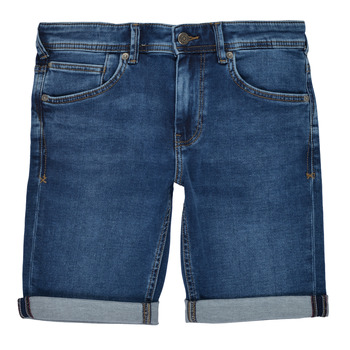 Textil Rapaz Shorts / Bermudas Teddy Smith SCOTTY 3 Azul / Escuro