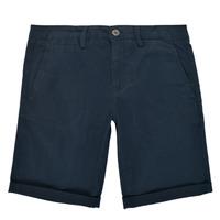 Textil Rapaz Shorts / Bermudas Teddy Smith SHORT CHINO Marinho