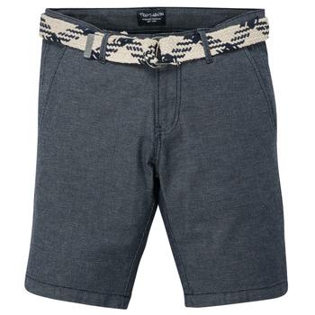 Textil Rapaz Shorts / Bermudas Teddy Smith STATON CHINO Marinho