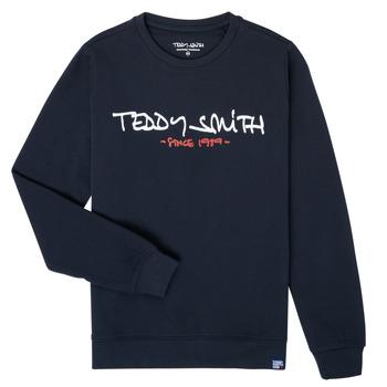 Textil Rapaz Sweats Teddy Smith S-MICKE Marinho