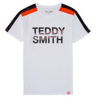 Textil Rapaz T-Shirt mangas curtas Teddy Smith T-MACK Branco