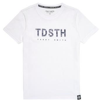 Textil Rapaz T-Shirt mangas curtas Teddy Smith T-MAX Branco