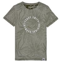 Textil Rapaz T-Shirt mangas curtas Teddy Smith T-OTYS Cáqui