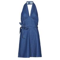 Textil Mulher Vestidos curtos Molly Bracken EL902P21 Azul
