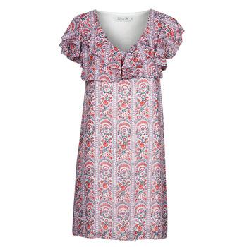 Textil Mulher Vestidos curtos Molly Bracken LA171AE21 Malva
