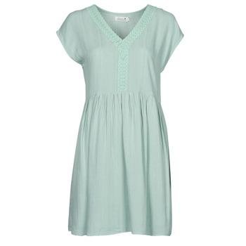 Textil Mulher Vestidos curtos Molly Bracken G801E21 Verde / Claro