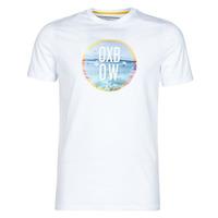 Textil Homem T-Shirt mangas curtas Oxbow N1TERO Branco