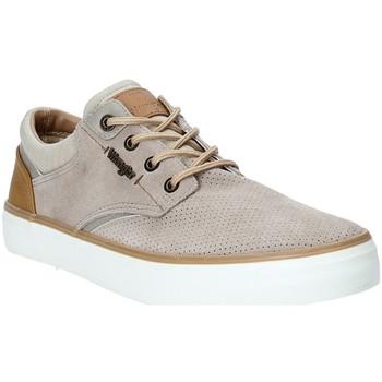 Sapatos Homem Sapatilhas Wrangler WM91121A Bege