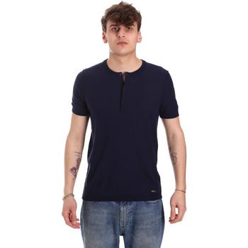 Textil Homem T-Shirt mangas curtas Gaudi 011BU53007 Azul