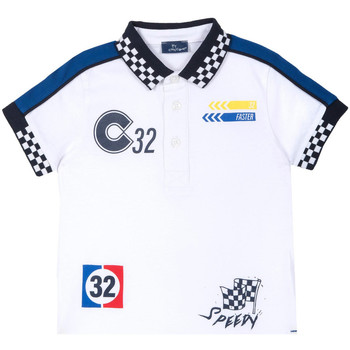 Textil Criança T-Shirt mangas curtas Chicco 09033560000000 Branco