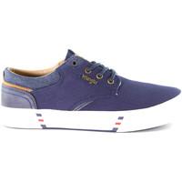 Sapatos Homem Sapatilhas Wrangler WM01000A Azul