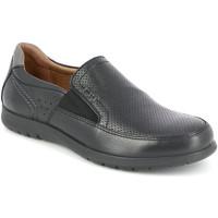 Sapatos Homem Mocassins Grunland SC4449 Preto