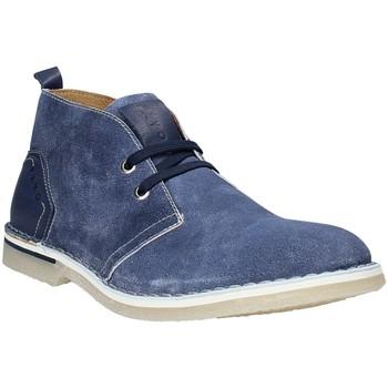 Sapatos Homem Botas baixas Rogers BK 61 Azul