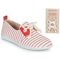 Sapatos Criança Sapatilhas Armistice STONE ONE Branco / Vermelho