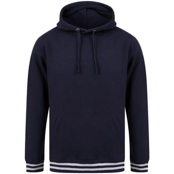 Textil Sweats Front Row FR841 Marinha/Cinzento de couro
