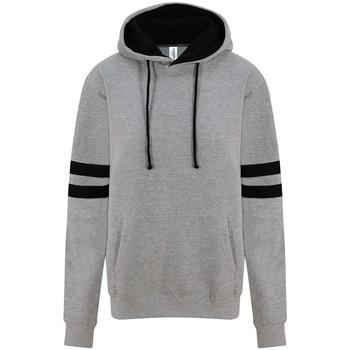 Textil Sweats Awdis JH103 Heather Grey/Deep Black