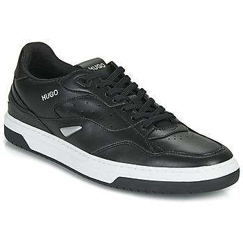 Sapatos Homem Sapatilhas HUGO SWITON TENN FL Preto