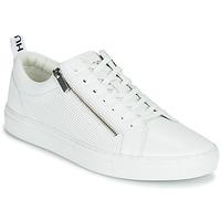 Sapatos Homem Sapatilhas HUGO FUTURISM TENN ITEM2 Branco