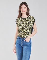 Textil Mulher Tops / Blusas S.Oliver 14-1Q1-32-7164-99B0 Preto / Multicolor