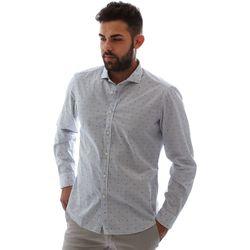 Textil Homem Camisas mangas comprida Gmf 961232/4 Branco