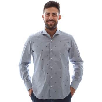 Textil Homem Camisas mangas comprida Gmf 961231/4 Azul