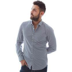 Textil Homem Camisas mangas comprida Gmf 961151/3 Azul