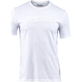 Textil Homem T-Shirt mangas curtas Lumberjack CM60343 001 508 Branco