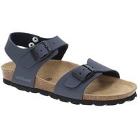 Sapatos Rapaz Sandálias Grunland SB0901 Azul