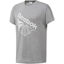 Textil Homem T-Shirt mangas curtas Reebok Sport DT8213 Cinzento