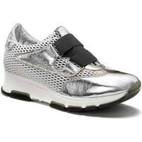 Sapatos Mulher Sapatilhas Keys 5183 Prata