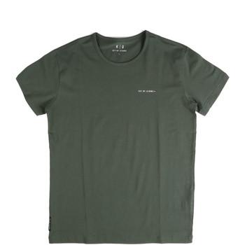 Textil Homem T-Shirt mangas curtas Key Up 2G69S 0001 Verde