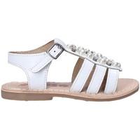 Sapatos Rapariga Sandálias Asso 65954 Branco