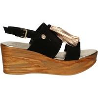 Sapatos Mulher Sandálias Byblos Blu 672213 Preto