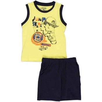 Textil Criança Conjunto Losan 815-8042AC Amarelo