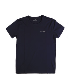 Textil Homem T-Shirt mangas curtas Key Up 2G69S 0001 Azul